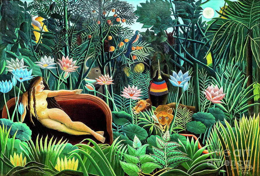 The Dream by Rousseau by Henri Rousseau