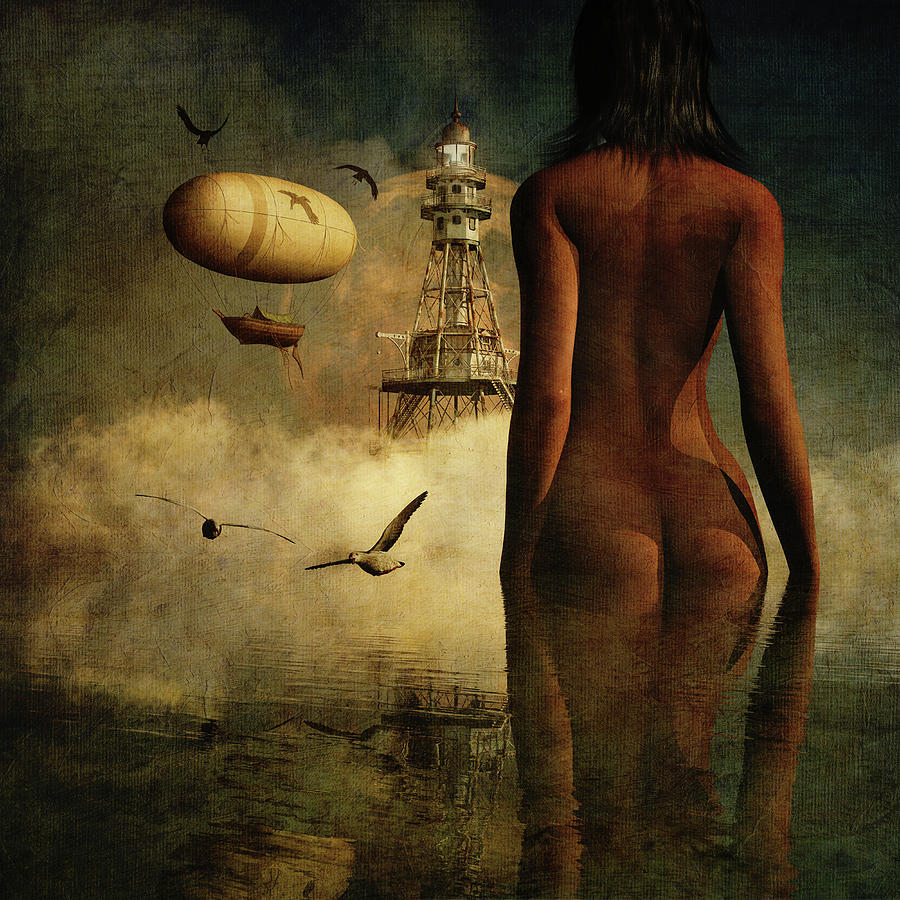 Julia's dream about the lighthouse and its inhabitants by Jan Keteleer