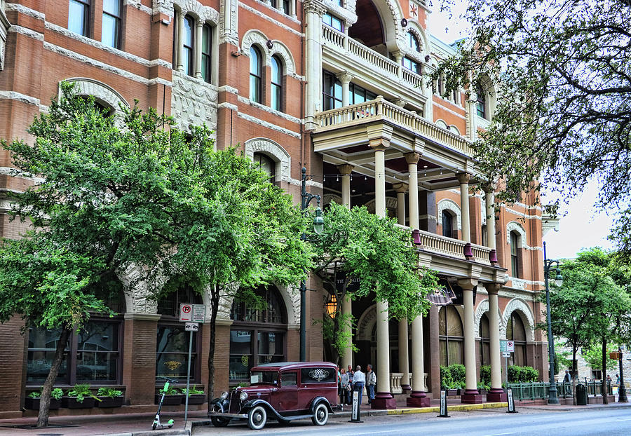 The Driskill Hotel - Austin by Allen Beatty