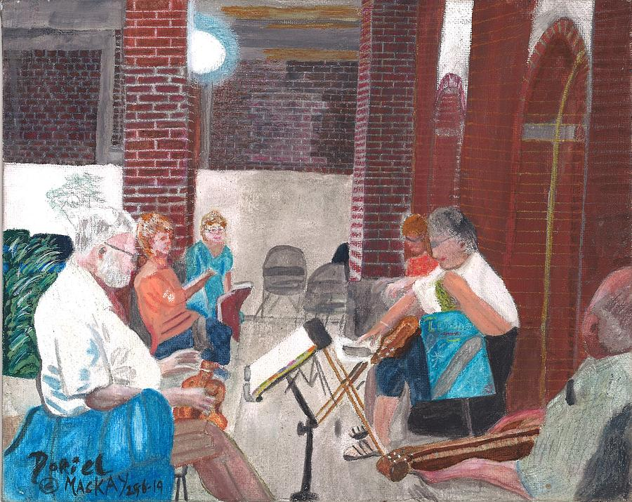 The Dulcimer Group by Doriel Mackay
