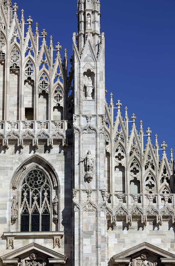 The Duomo Cathedral, Milan Photograph by Massimo Pizzotti