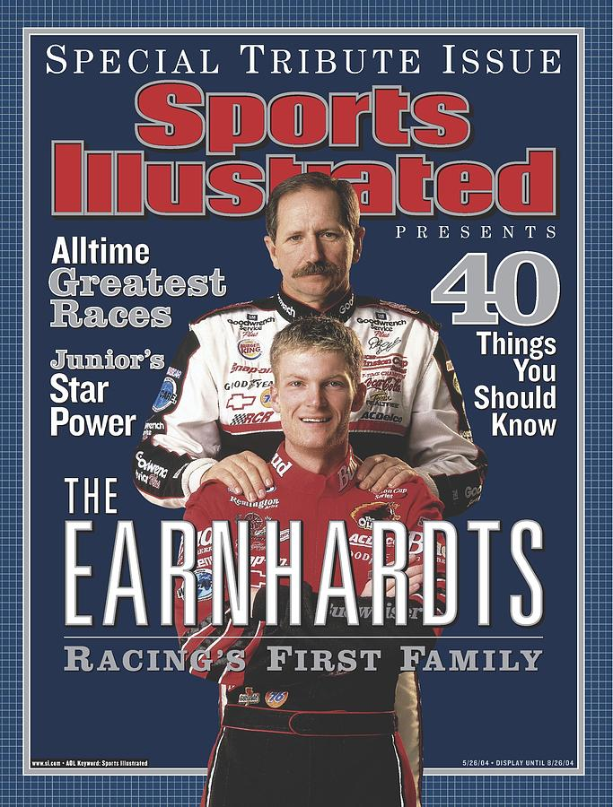 The Earnhardts Racings First Family Special Tribute Issue Sports Illustrated Cover Photograph by Sports Illustrated
