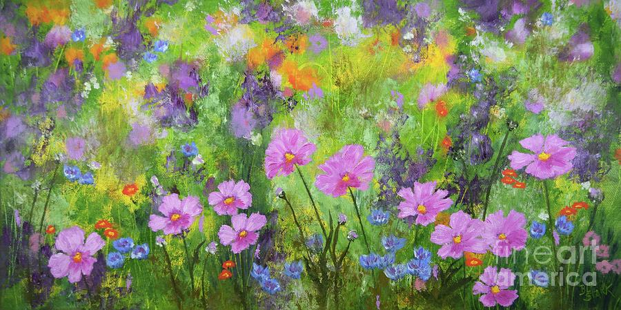 The Earth Laughs In Flowers by Barrie Stark