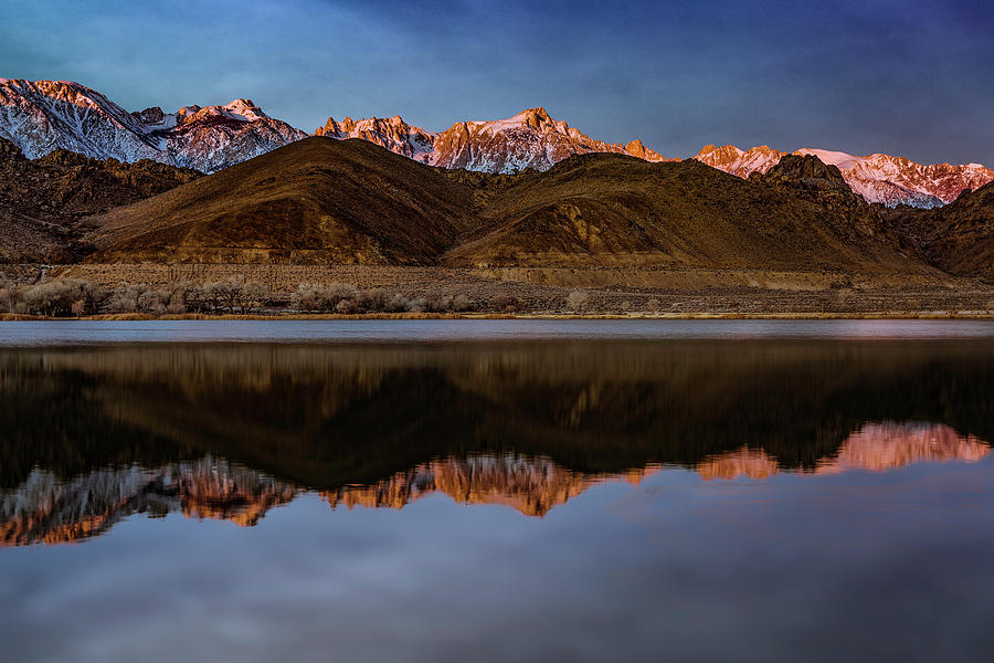 The Eastern Sierra at Sunrise by Don Hoekwater Photography