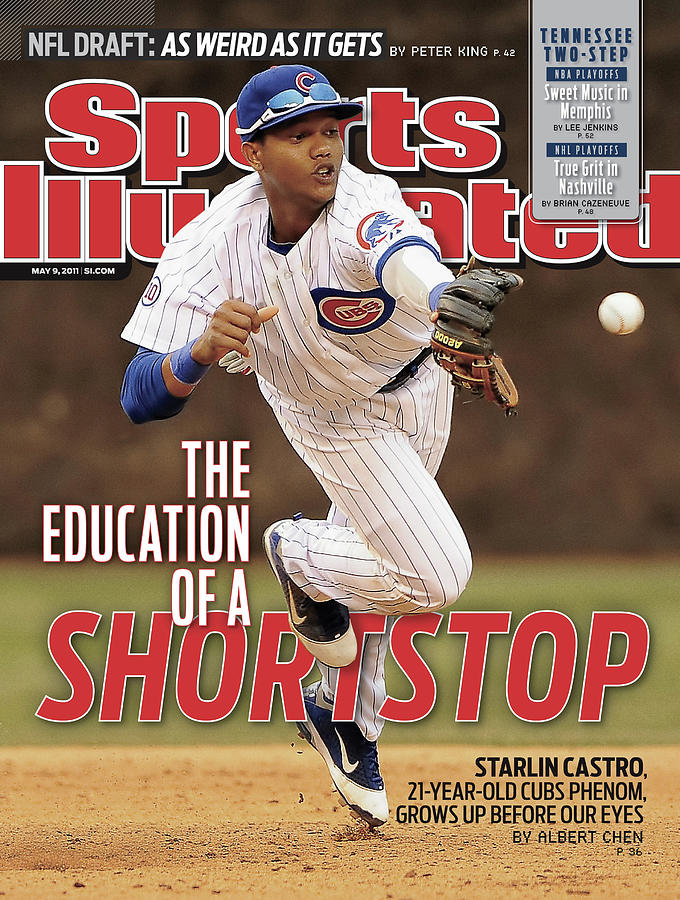 The Education Of A Shortstop Starlin Castro, 21-year-old Sports Illustrated Cover Photograph by Sports Illustrated