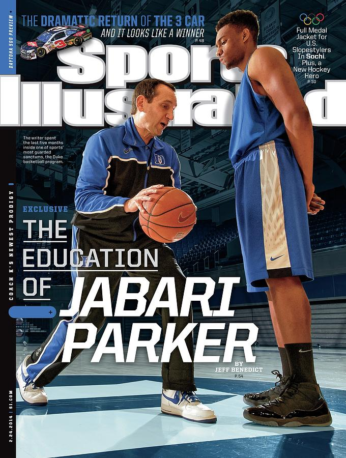 The Education Of Jabari Parker Sports Illustrated Cover Photograph by Sports Illustrated