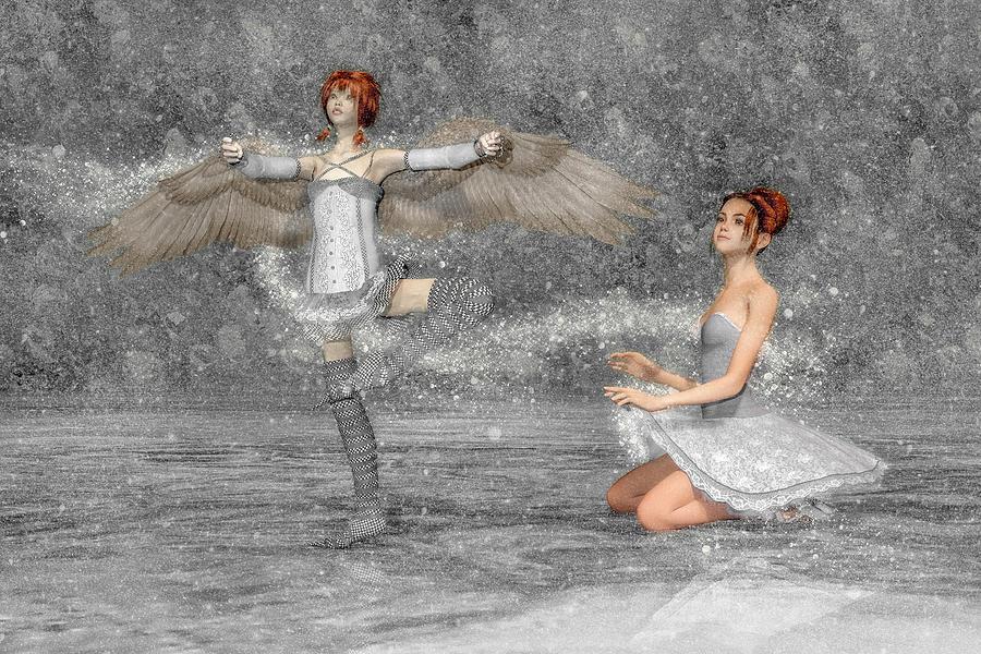 The Enchantment Of Dance Digital Art
