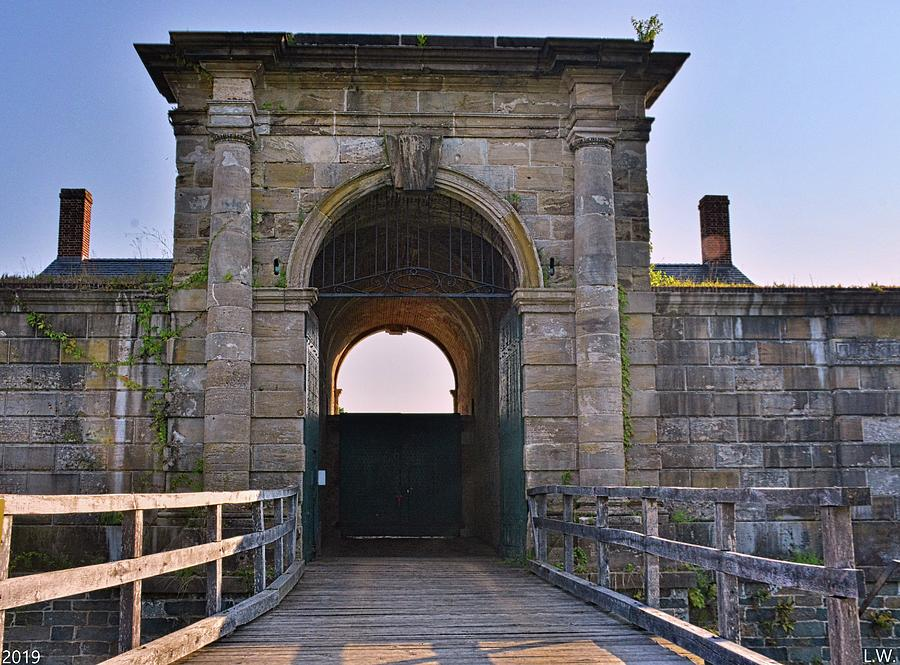 The Entrance To The Fort At Fort Washington by Lisa Wooten