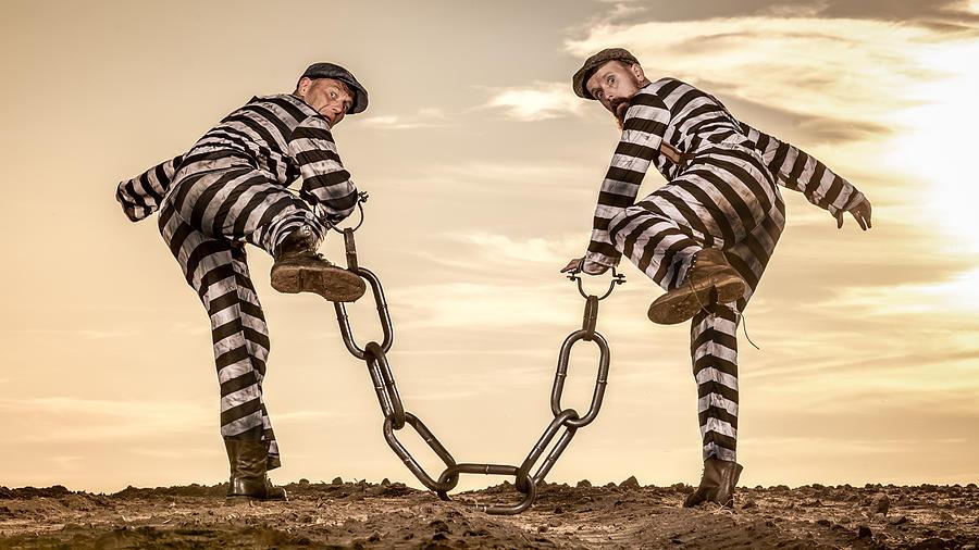 Escaped Photograph - The Escaped by Jens Jensen