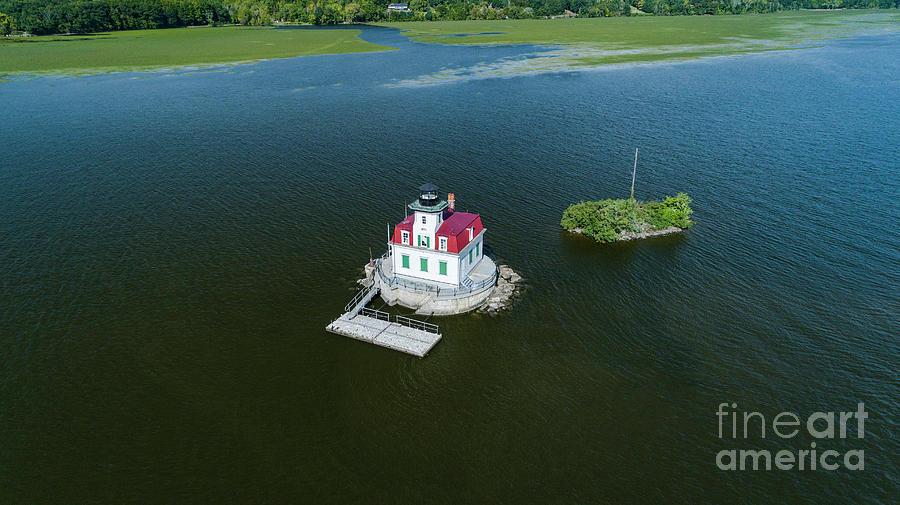 The Esopus Lighthouse by Joe Santacroce