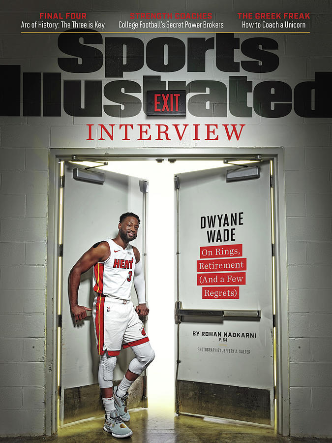 The Exit Interview Miami Heat Dwyane Wade On Rings Sports Illustrated Cover Photograph by Sports Illustrated