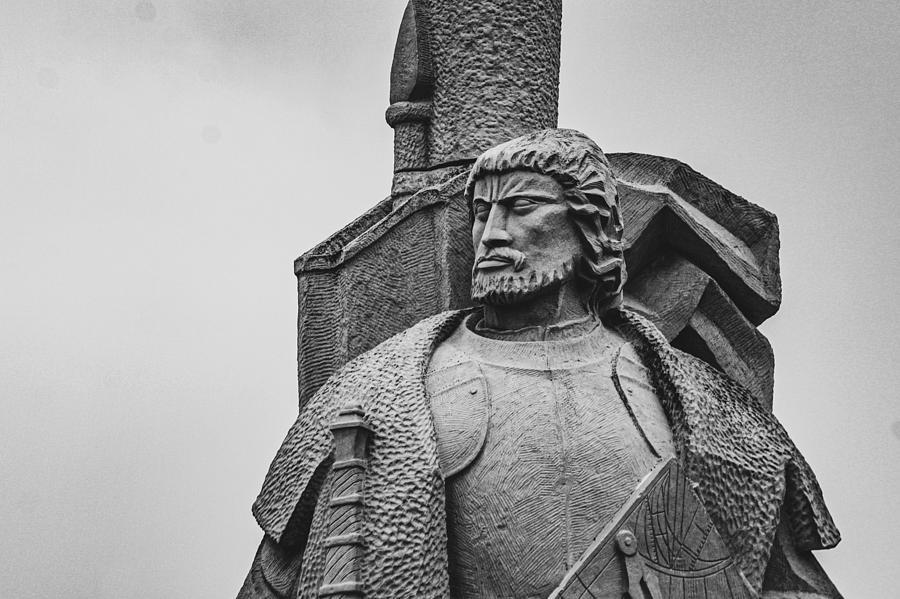Statue Photograph - The Explorer by Bonny Puckett