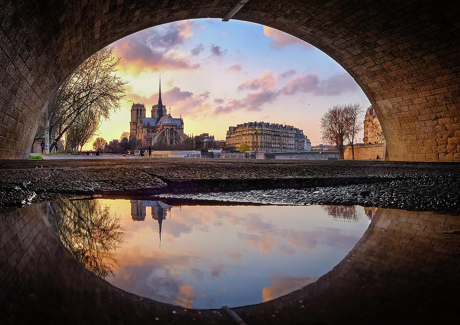 Paris Photograph - The Eye by Charly Lataste
