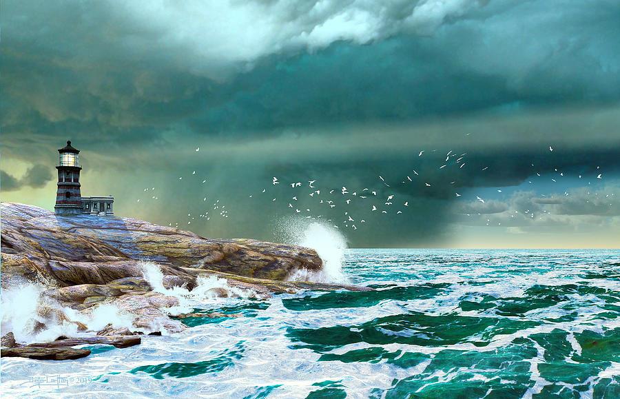 The Eye of Neptune by Dieter Carlton