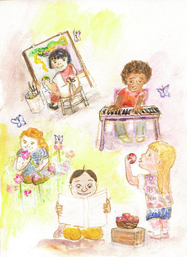 The Eyes of Children by Claremaria Vrindaji Bowman