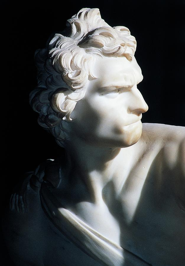 The Face Of David Designed By Gian Lorenzo Bernini