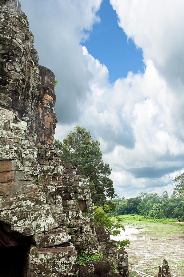 The Faces Of Bayon An Angkor In Cambodia Photograph by Tbradford