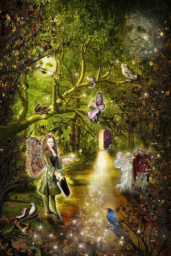 The Faery Grove by Diana Haronis