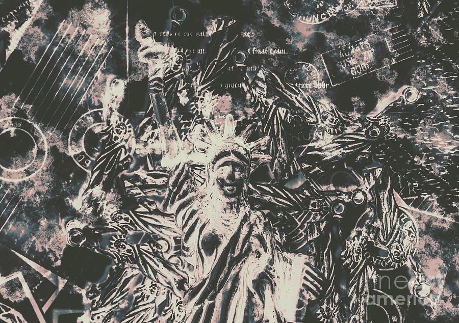 Apocalypse Photograph - The Fall Of False Idols by Jorgo Photography - Wall Art Gallery