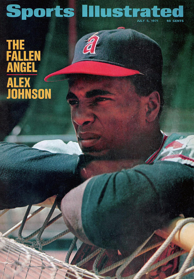 The Fallen Angel Alex Johnson Sports Illustrated Cover Photograph by Sports Illustrated