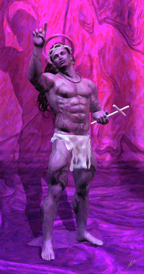 The False Pink Prophet Digital Art