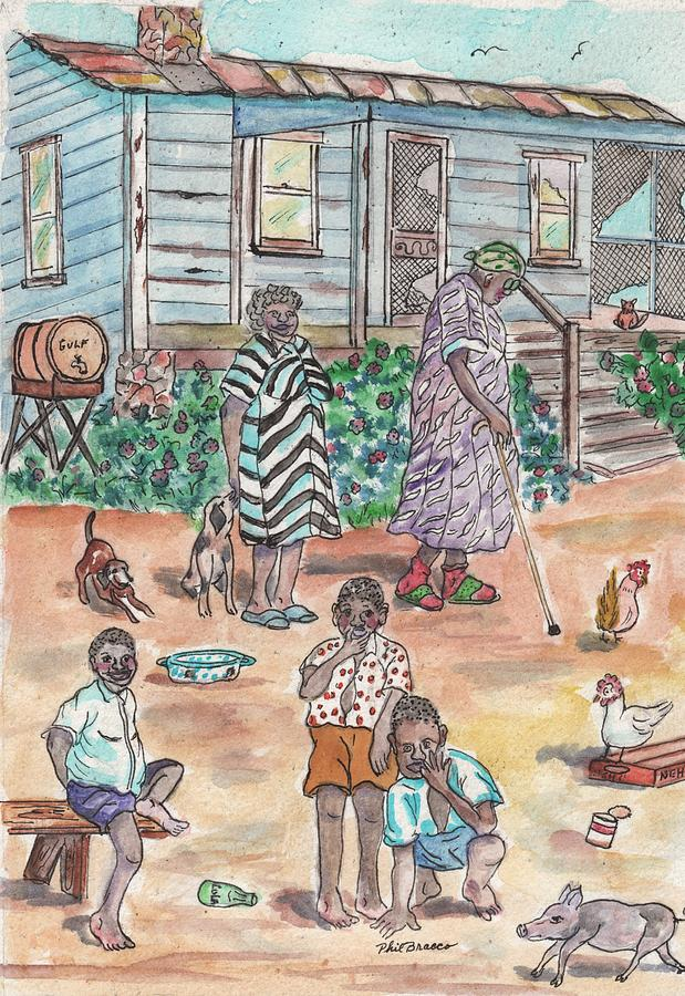 The Family on Magnolia Road by Philip Bracco