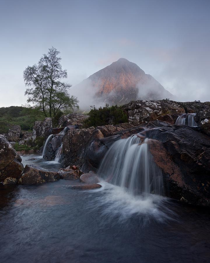 The Famous Falls in Glencoe by Stephen Taylor