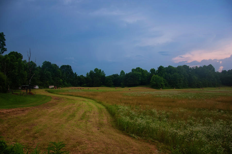 the farm right before the storm by Chris Flees