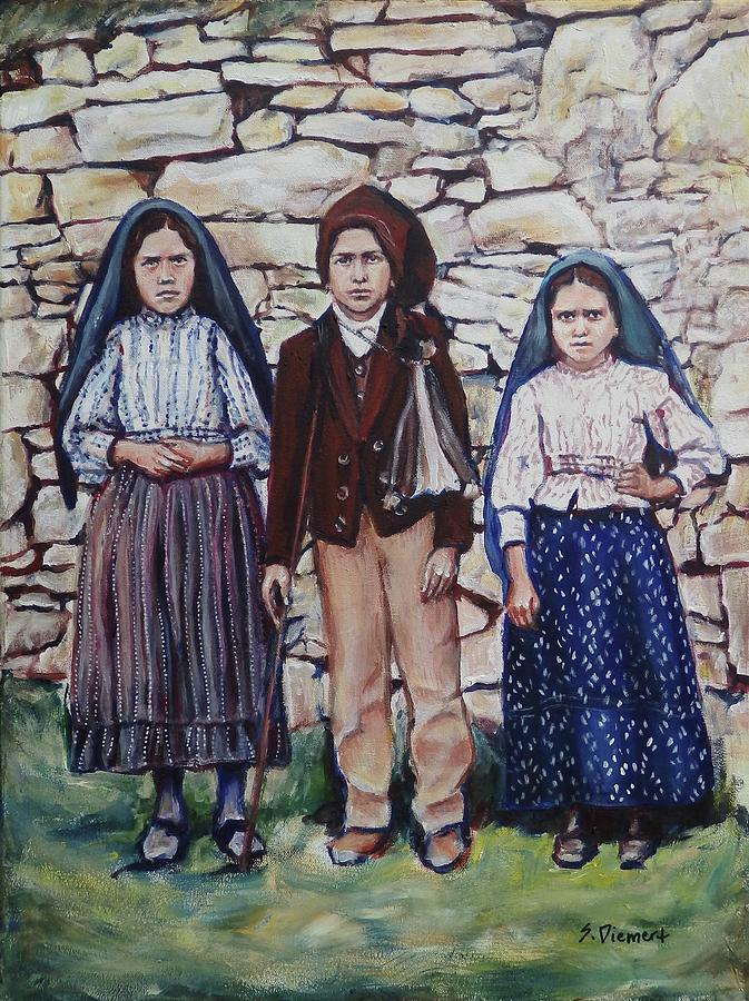 The Fatima Children Painting
