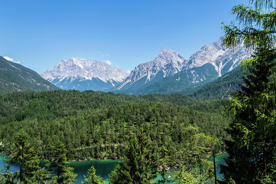 The Fern Pass Austria by Steve Purnell