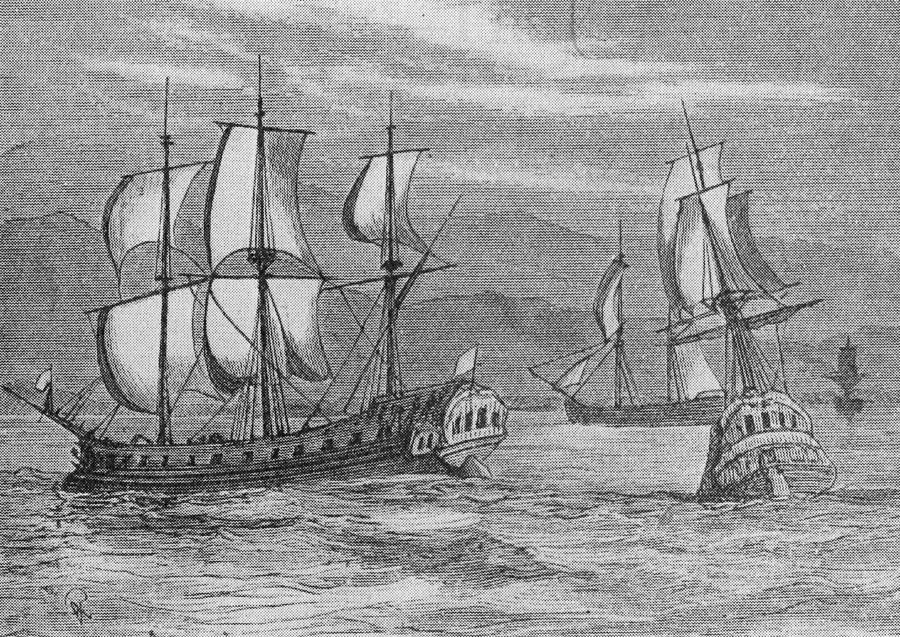 The First Fleet Photograph by Hulton Archive