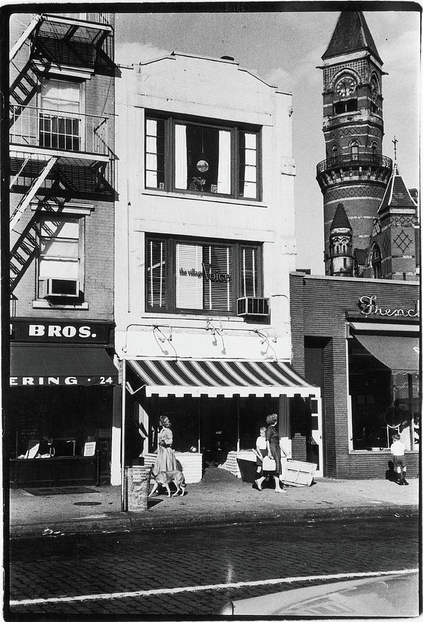 The First Offices Of The Village Voice Photograph by Fred W. McDarrah