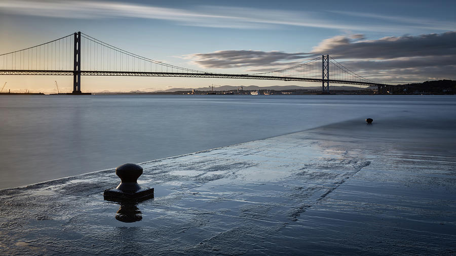The Firth Of Forth Photograph by Stuart Leche