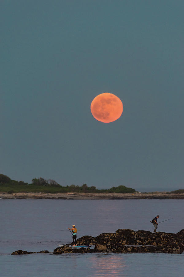 The Fisherman and the Full Moon by Jesse MacDonald
