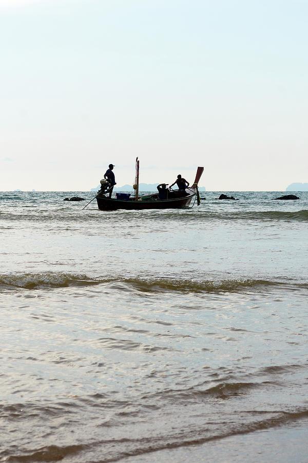 Fishermen Photograph - The Fishermen by Laura J P Richardson
