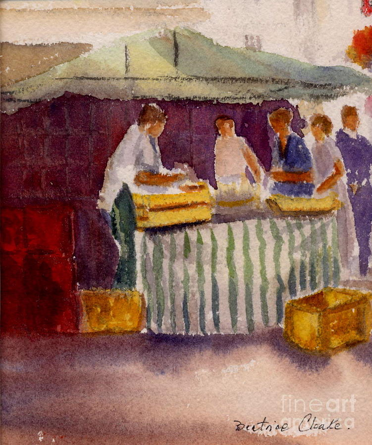 The Fishmonger by Beatrice Cloake