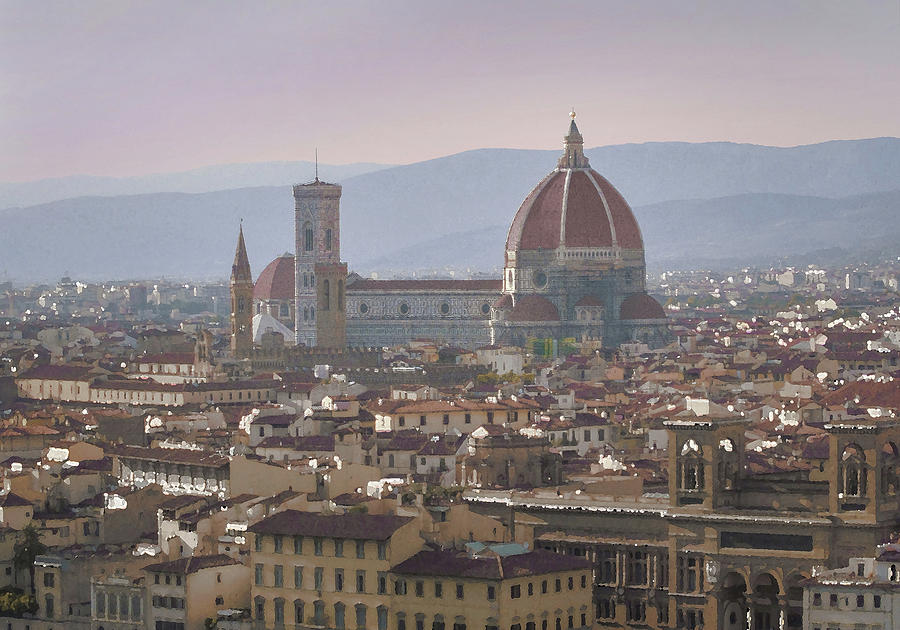 The Florence Duomo at Dusk by Dimitris Sivyllis
