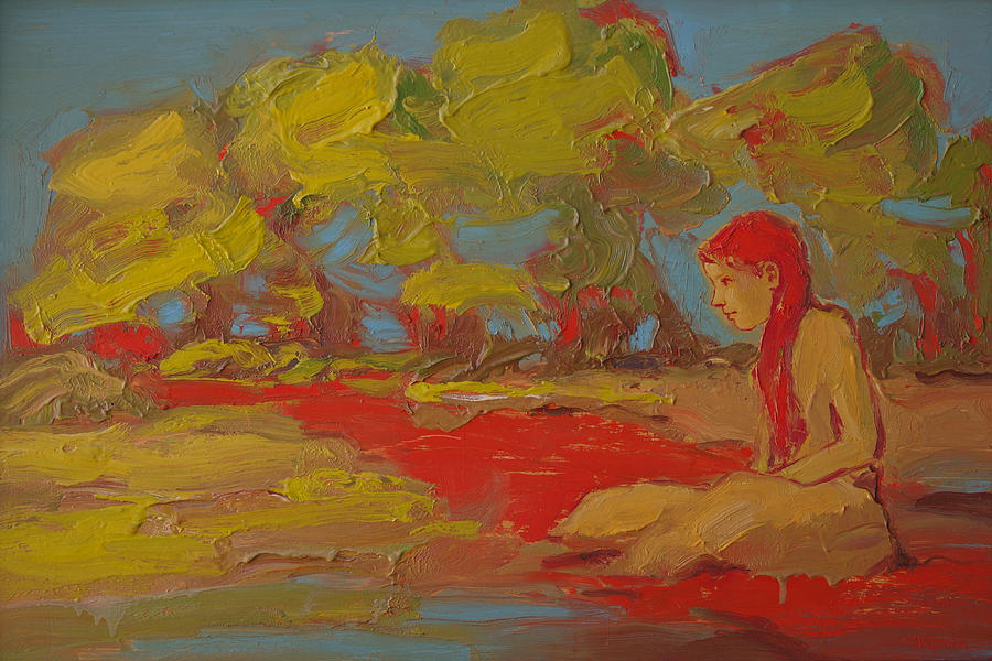 The Flow of the Red River by Michael Shipman