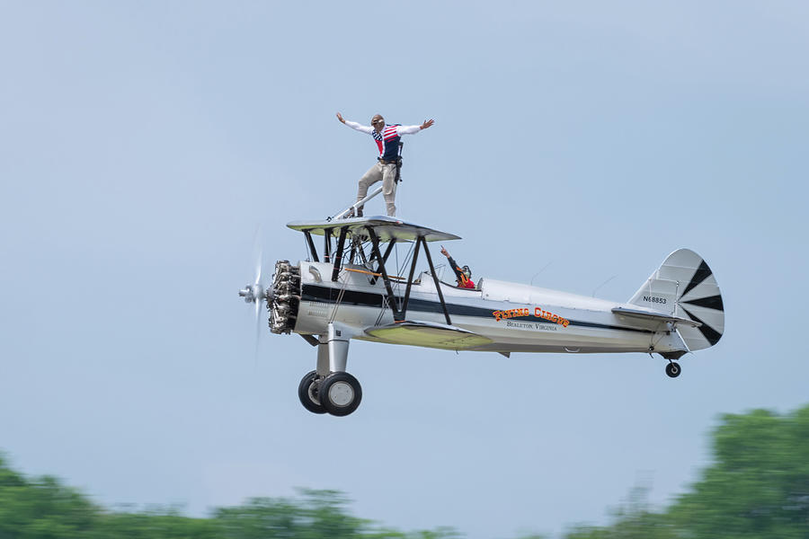 The Flying Circus Wingwalker by Todd Henson