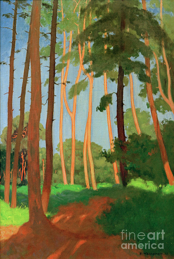 The forest clearing by Felix Vallotton
