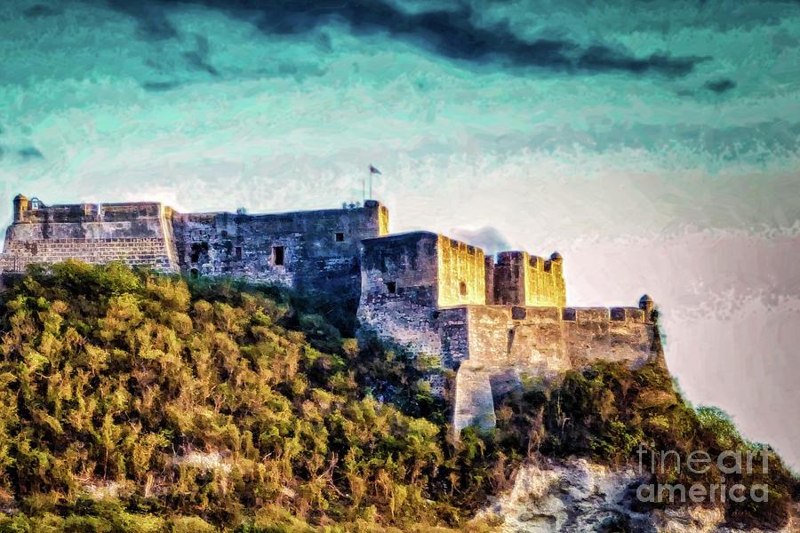The Fort at Santiago de Cuba 1 by Stefan H Unger