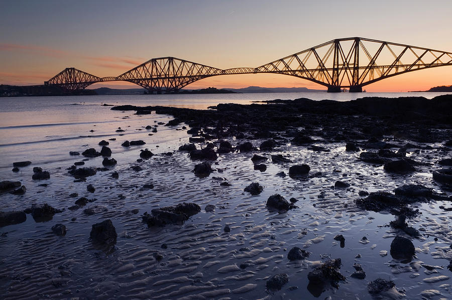 The Forth Rail Bridge At Dawn Photograph by Northlightimages