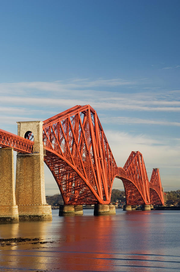 The Forth Rail Bridge Photograph by Northlightimages