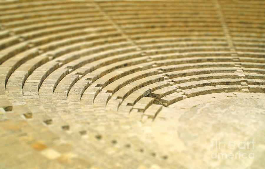 Small Photograph - The Fragment Of Ancient Theatre by Katatonia82