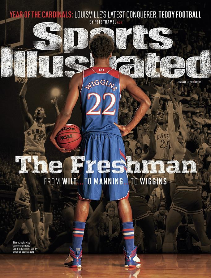 The Freshman From Wilt...to Manning...to Wiggins Sports Illustrated Cover Photograph by Sports Illustrated