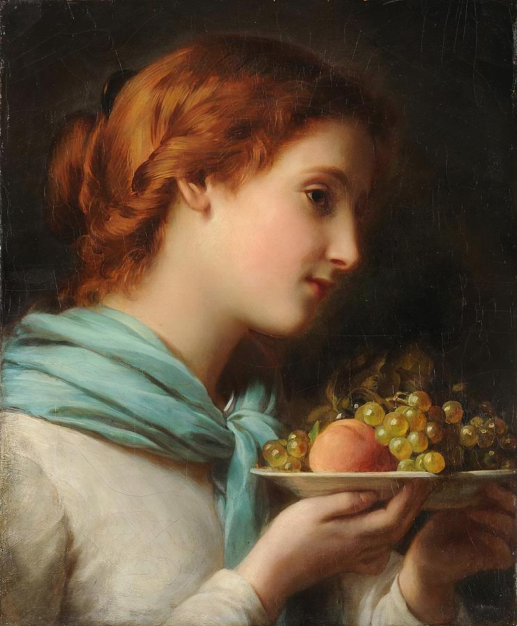 The Fruit Girl by Franz Xaver Winterhalter