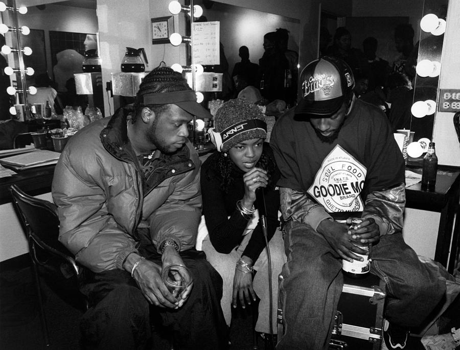The Fugees In Chicago Photograph by Raymond Boyd