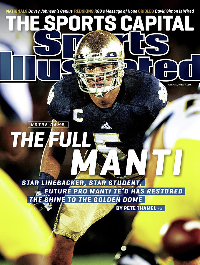 The Full Manti Notre Dame Sports Illustrated Cover Photograph by Sports Illustrated
