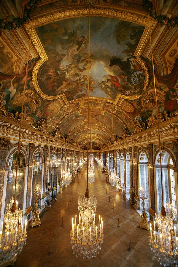 The Galar Of Glasses In Versailles Photograph by Raphael Gaillarde