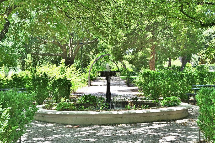 The Garden At The Hampton Preston House by Lisa Wooten